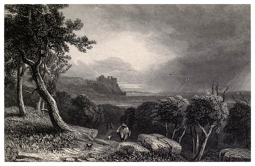 020-Castillo de Harlech-Wanderings and excursions in North Wales (1853)- Thomas Roscoe