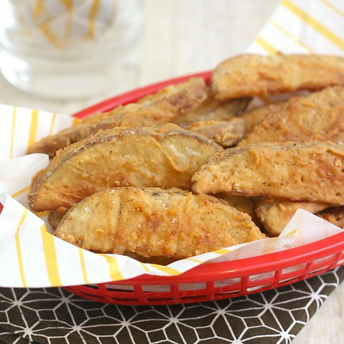 Copycat KFC Potato Wedges