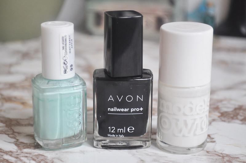 jackson pollock style splatter nails notd nail polish art 2