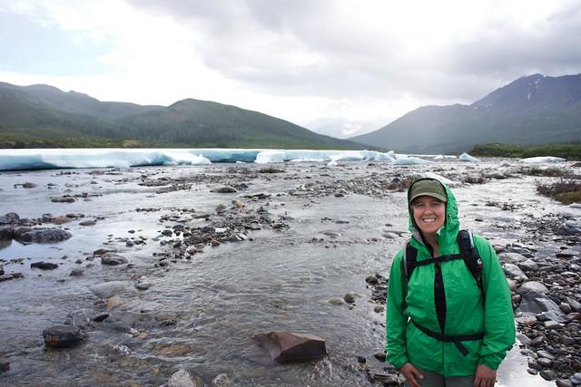 Sara klondike river hike