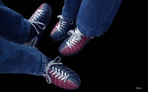 Bowling shoes (zapatos de bowling)