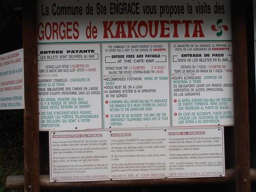 GORGE DE KAKUETTA 130