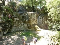 Vestiges médiévaux de Capula à proximité de Cucuruzzu