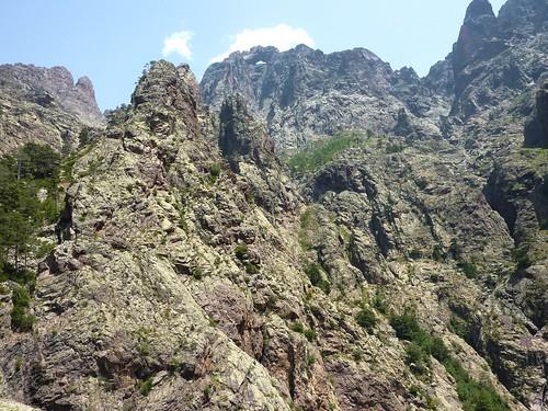 Col 1150m : vue du Capu Rossu et du Tafonatu