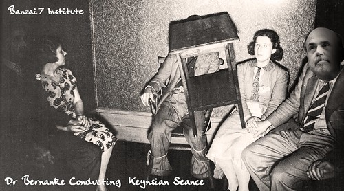 KEYNESIAN SEANCE by Colonel Flick
