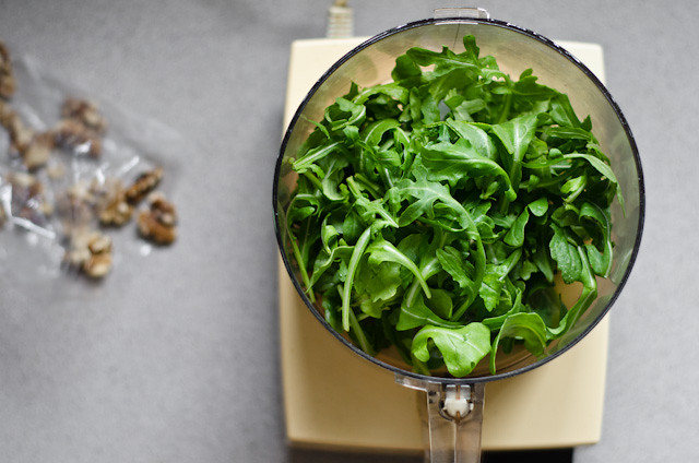 arugula (for pesto)