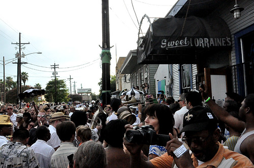 Second Line for Uncle Lionel Batiste on July 13, 2012.  Photo by Kichea S Burt.