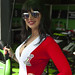Pr1mo Bournemouth Kawasaki Grid Girl in the Pits at Oulton Park by bmaffin