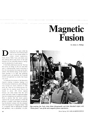 Magnetic Fusion