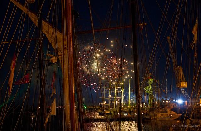 Feu d'artifice  - Tonnerres de Brest 2012