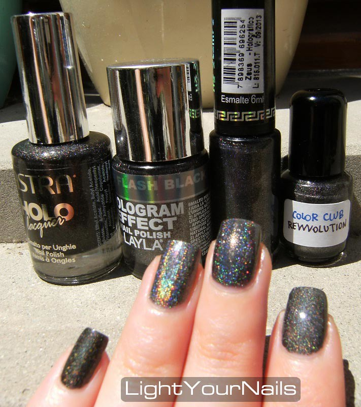 Black holo comparison