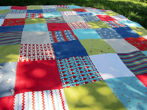 a picnic blanket