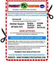 PharmacyRxCoupons.com Prescription Drugs Coupon
