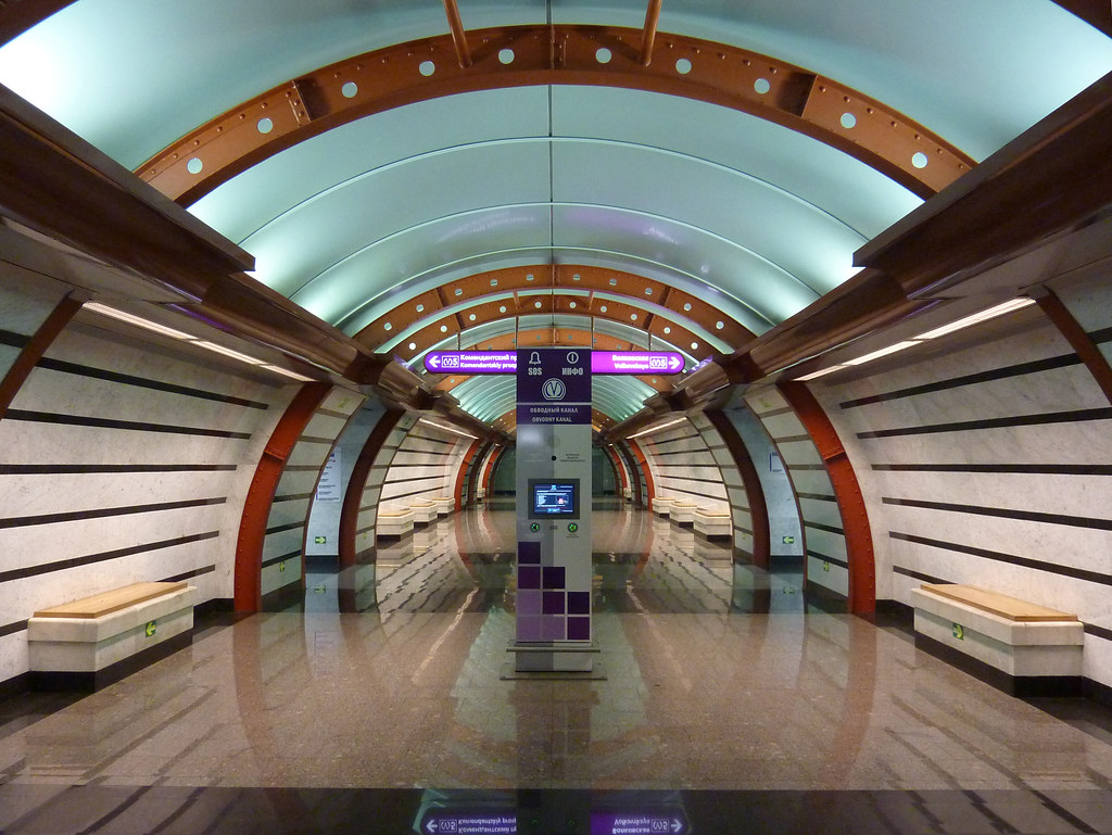 metro stations in saint petersburg russia