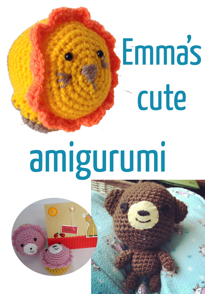 4. Emma's cute amigurumi