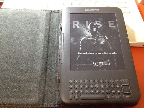 Kindle with TDKR