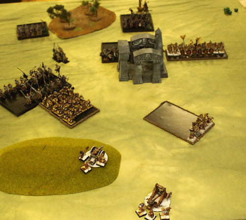 Battle 2 Vs Dark Elves  - Turn 5 DE
