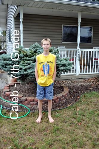 Caleb - 7th Grade
