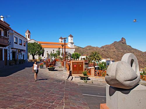 Town of Tejeda, Gran Canaria