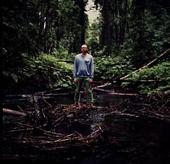 [フリー画像素材] 人物, 男性, 人物 - 森林, ノルウェー人 ID:201207300400
