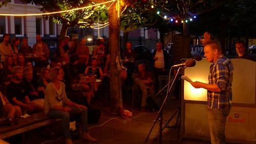 Dichters in de Prinsentuin