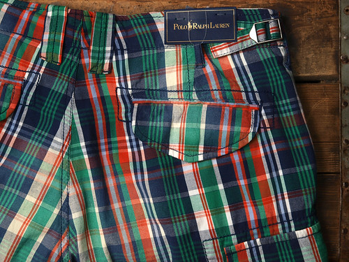 Ralph Lauren / Plaid Cargo Short