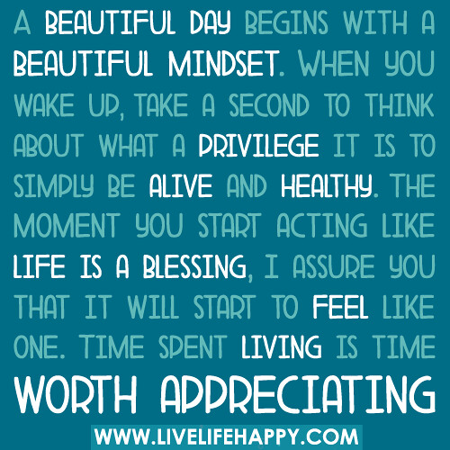 a beautiful day begins with a beautiful mindset quote - photo #7