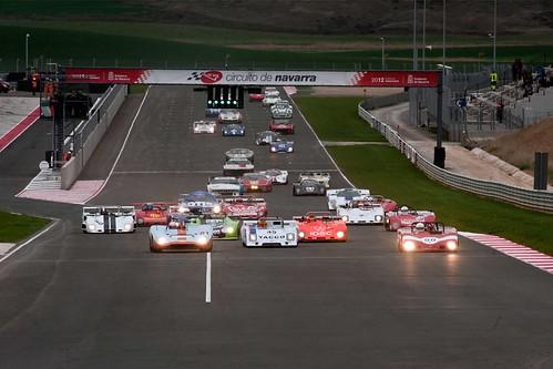 Competición en el Circuito de Navarra