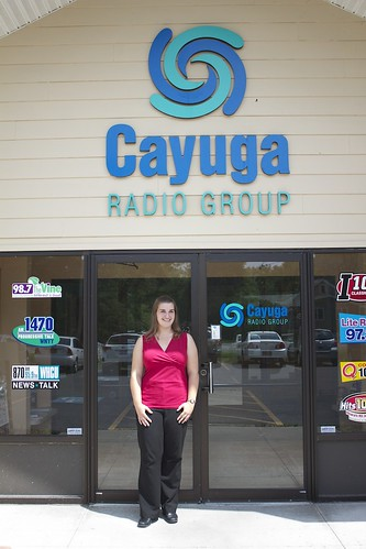 Cassie Medcalf at Cayuga Radio Group