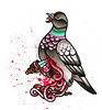 harakiri pigeon commission work
