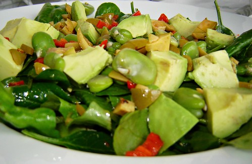 Green Olive & Broad Bean Salad 1
