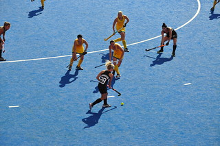 NZ winning the hockey