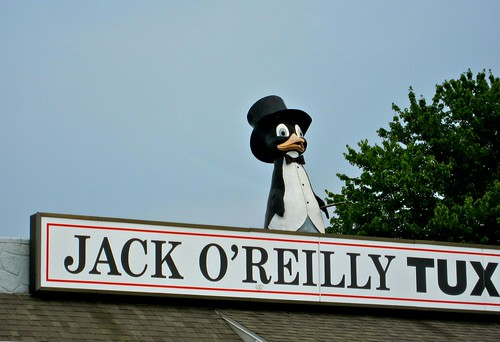 Jack O'Reilly Tux Penguin Reading PA