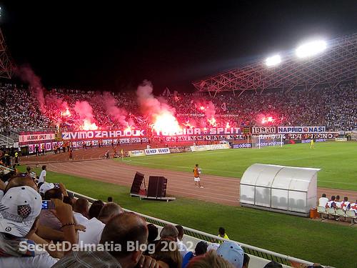 Hajduk and torcida