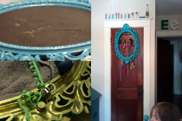 Eliza's Ornate Frame Necklace Holder