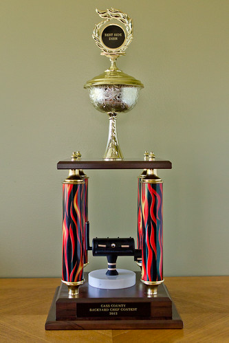 2012 Backyard Chef Trophy