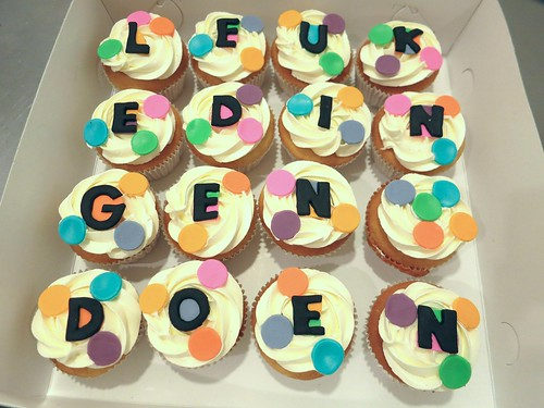 LEUKE DINGEN DOEN cupcakes by CAKE Amsterdam - Cakes by ZOBOT
