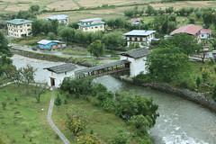 Cantilever bridge in Paro