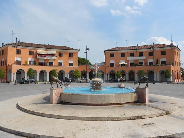 piazza della Repubblica - Tresigallo
