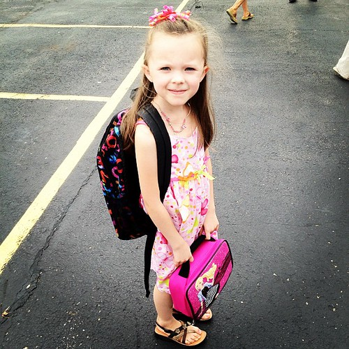 First day of #school. First grade.