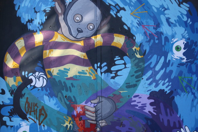 Graffiti nuevo en La Tabacalera