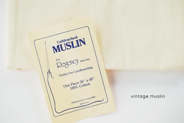 vintage muslin