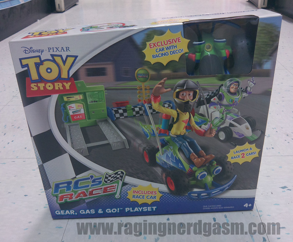 Toy Story Action figuresRC's RaceGear Gas & Go Playset011