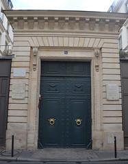 Le marechal lyautey plaque 5 rue bonaparte paris 6 flickr photo sharing - Rue bonaparte paris 6 ...