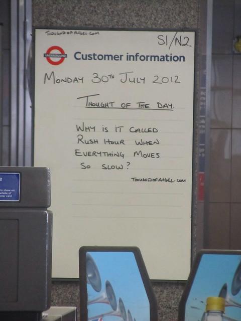 london underground customer services