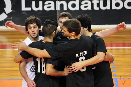 Voleibol: Vitória 3-1 Marítimo