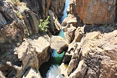 Bourke's Luck Potholes in the Blyde River Canyon of South Africa