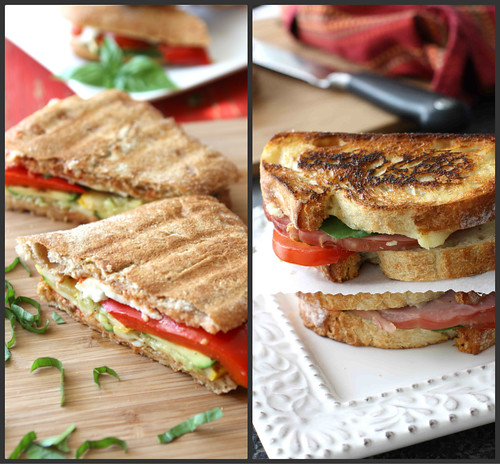 Grilled Sandwich Collage