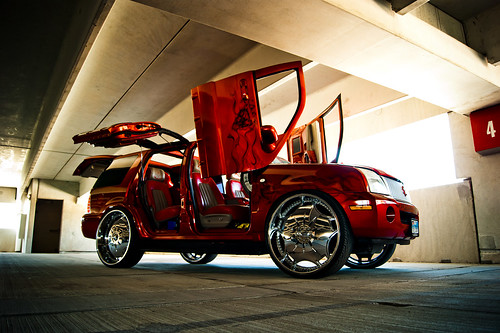 CNB Red Custom SUV | Urban Legends Car Show | 10/2012 - 10
