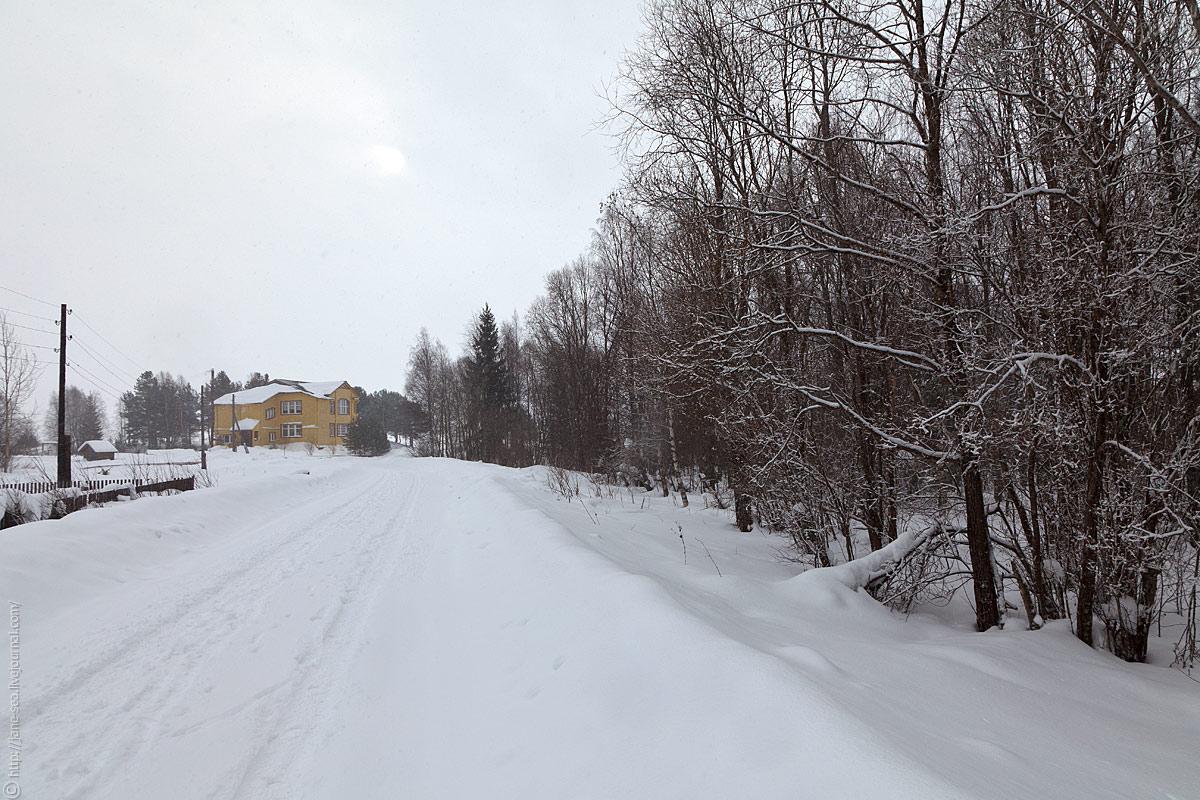 Деревня Морщихинская. Визитцентр